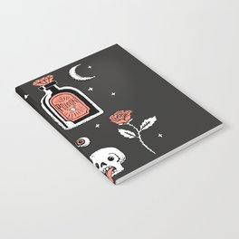 Skeleton Spooky Boye Notebook