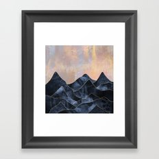 Mountainscape Framed Art Print