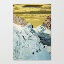 we found tomorrow today while together Canvas Print