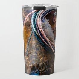 Tools of the Trade - Cowboy Saddle Closeup Travel Mug