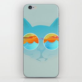Chill Cat iPhone Skin
