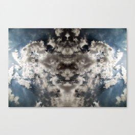 Realms Breaking Through Canvas Print