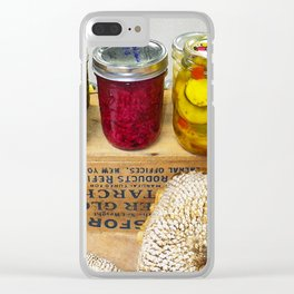 Pickles at the Fair Clear iPhone Case