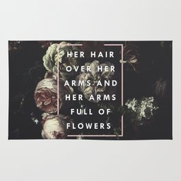 Arms Full Of Flowers Rug