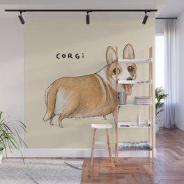 Corgi Wall Mural