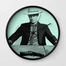 Raylan Givens 4 Wall Clock