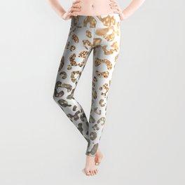 GOLD LEO Leggings