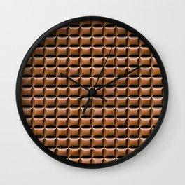 Chocolate Bar Overhead Wall Clock