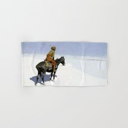 "Frederic Remington Western Art ""The Scout"" Hand & Bath Towel"