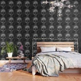 Caveira Mandala Wallpaper