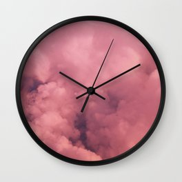 Cotton Candy II Wall Clock
