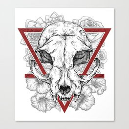 Sealed fate Canvas Print