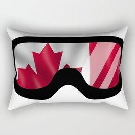 Canadian Goggles   Goggle Art Design   DopeyArt Rectangular Pillow
