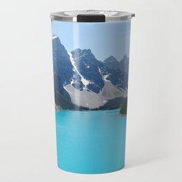 Moraine Lake, Banff Canada Travel Mug