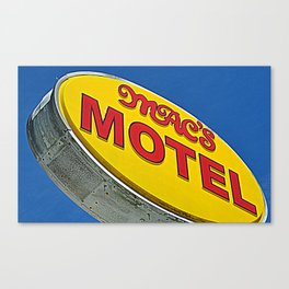 Mac's Motel Canvas Print