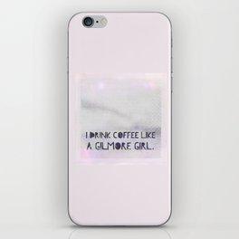 Like A Gilmore Girl iPhone Skin