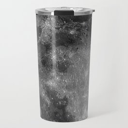 Black & White Moon Travel Mug