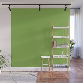 Green Apple - Solid Color Collection Wall Mural