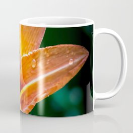 Wet Tiger Lily Coffee Mug