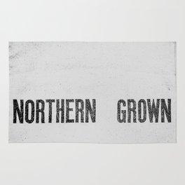 NORTHERN GROWN  White  Rug