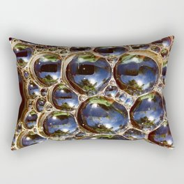Coffee Bubbles Rectangular Pillow