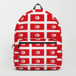 flag of tunisia 2 -tunisie, tunisian,tunis,Maghreb. Backpack