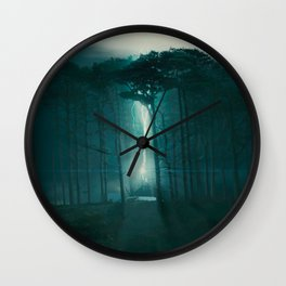 The Elder Wand lies with him Wall Clock