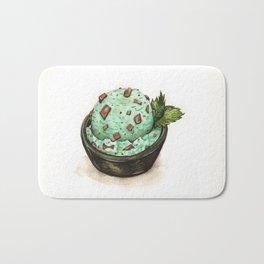 Mint Chocolate Chip Ice Cream Bath Mat