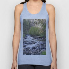 Peaceful Walk Creek Bed Unisex Tank Top