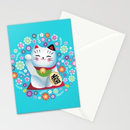 My lucky Kitty Stationery Cards
