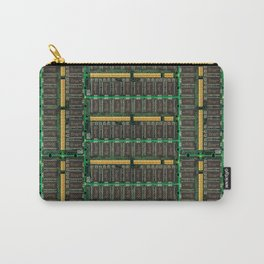 Computer memory modules background Carry-All Pouch