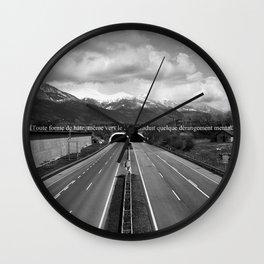 Hâtez-vous! Wall Clock