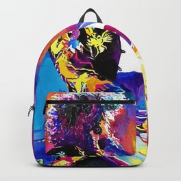 Watercolor my Jimmy Backpack