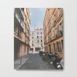 Paris Streets Metal Print