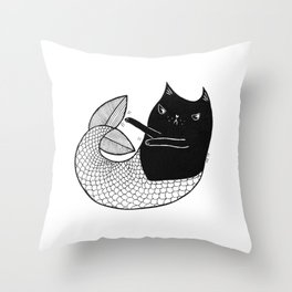 Mercat Throw Pillow