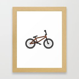 #17 BMX Framed Art Print