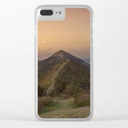 Malvern Hills Clear iPhone Case
