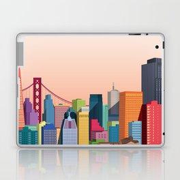 City San Francisco Laptop & iPad Skin