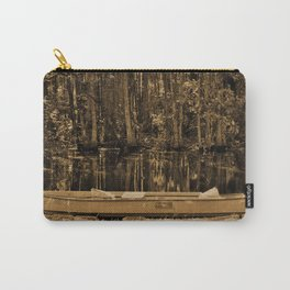 Boat And Swamp Waters Carry-All Pouch
