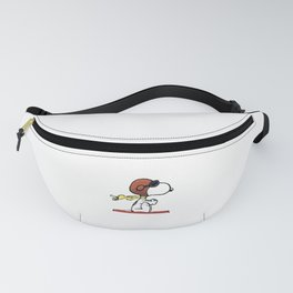 flying snoopy dom Fanny Pack
