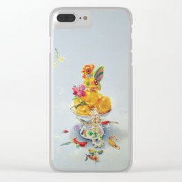 Year of the Rooster Clear iPhone Case