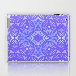 bowie: blue blue electric blue Laptop & iPad Skin