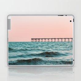 Beach Pier Sunrise Laptop & iPad Skin