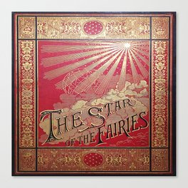 The Star of the Fairies Book Canvas Print