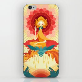 The Sun iPhone Skin