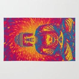 Crystal Buddha Rug