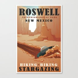 CPS Roswell, NM Canvas Print