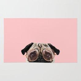 Intellectual Pug Rug