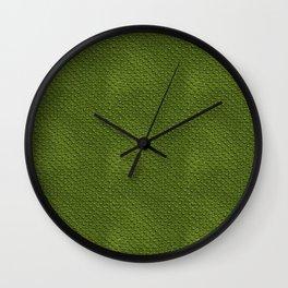 Crocodile Skin Pattern Wall Clock
