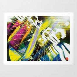 In Psyde 01 Art Print